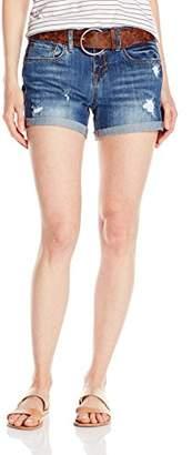 Dollhouse Women's Boyfriend Destructed Shorts