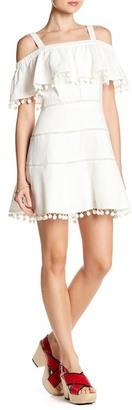 Red Carter Aster Linen Blend Dress $198 thestylecure.com