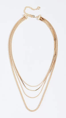 BaubleBar Snake Chain Necklace