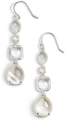 Ippolita 'Rock Candy' Semiprecious Stone Linear Drop Earrings