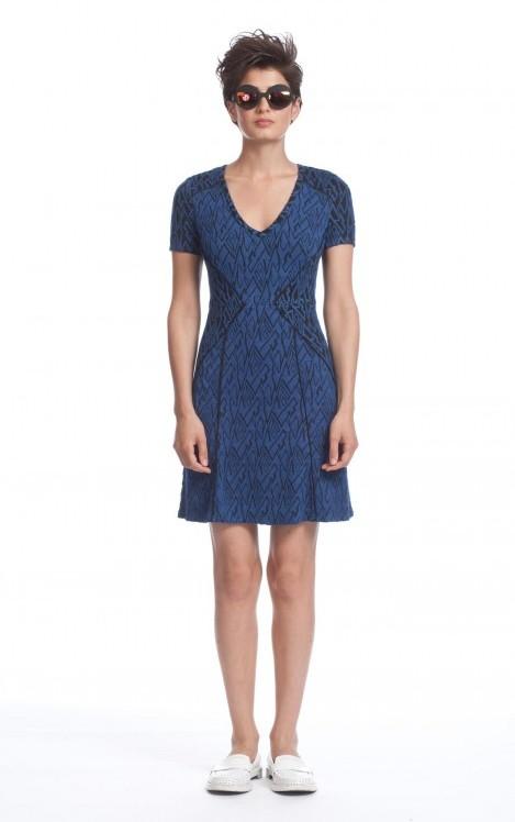 Tracy Reese Combo Dress