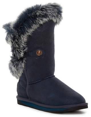 Australia Luxe Collective Nordic Angel Short Genuine Rabbit Fur & Genuine Shearling Boot