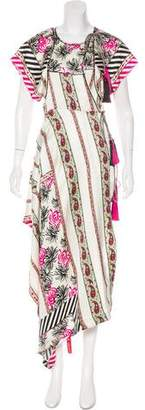 Etro Tassel Embellished Maxi Dress w/ Tags