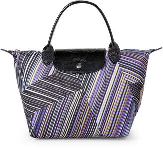 Longchamp Op'Art Le Pliage Small Top Handle Bag