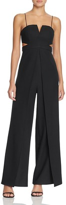 Bariano Cutout Flyaway Jumpsuit $198 thestylecure.com