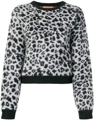 Missoni leopard knit jumper