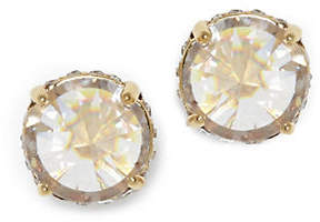 Vince Camuto Goldtone Crystal Rivoli Stud Earrings