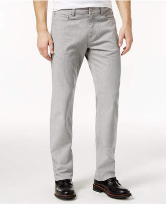 Alfani Men Straight-Fit Gray Wash Jeans
