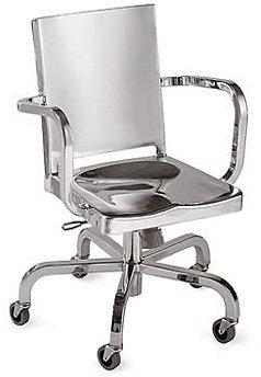 Hudson Task Chair, Polished