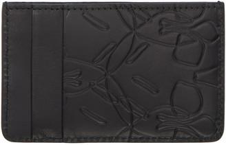 Alexander McQueen Black Skull Card Holder $175 thestylecure.com
