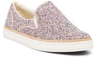 UGG Adley Chunky Glitter Slip-On Sneaker
