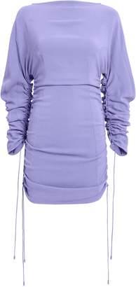 Thierry Mugler Ruched Mini Dress
