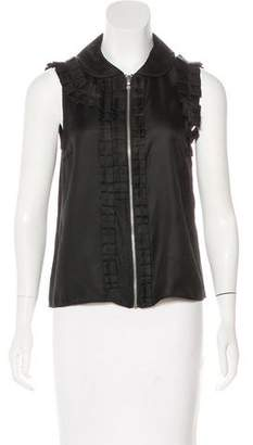 Marc by Marc Jacobs Ruffled Sleeveless Top