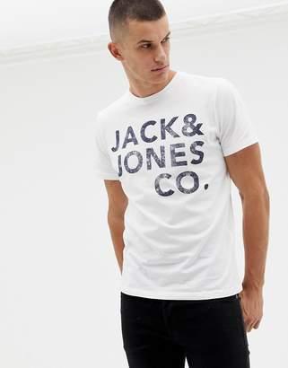 Jack and Jones Bold Print T-Shirt