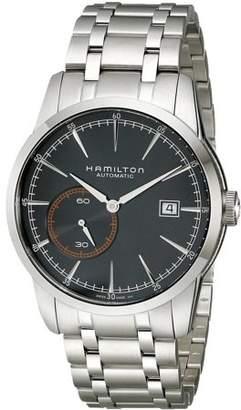 Hamilton Men's 42mm Steel Bracelet & Case Anti Reflective Sapphire Automatic Black Dial Watch H40515131
