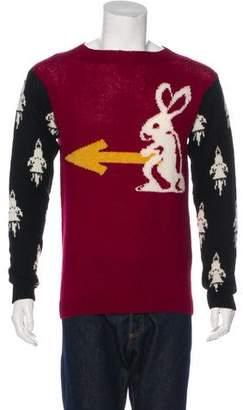 Prada 2016 Wool Intarsia Sweater w/ Tags