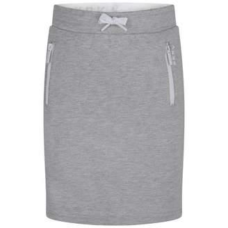 DKNY DKNYGirls Grey Milano Skirt
