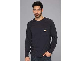 Carhartt Big Tall Force Cotton L/S Tee Men's T Shirt