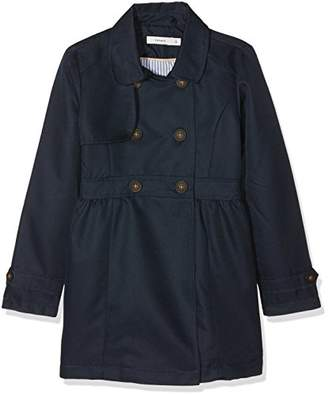 Name It Girl's Nmfmaiken Trench Coat Jacket