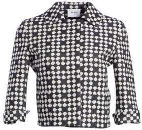 Akris Punto Punto Dot Cropped Jacket