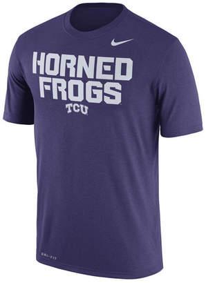 Nike Men's Tcu Horned Frogs Legend Verbiage T-Shirt