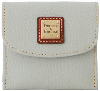 Dooney & Bourke Pebble Grain Credit Card Flap Wallet