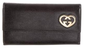 Gucci Patent Continental Wallet