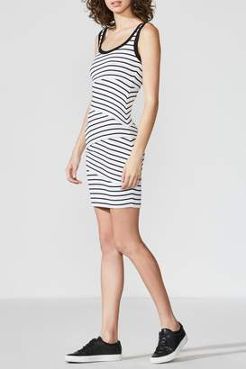 Bailey 44 Striped Jersey Dress