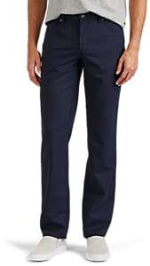 Hiltl Men's Wool Slim Trousers - Blue Size 31