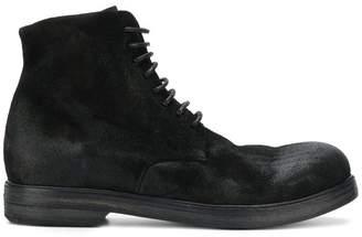 Marsèll distressed combat boots