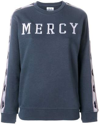 Zoe Karssen mercy embroidered sweatshirt