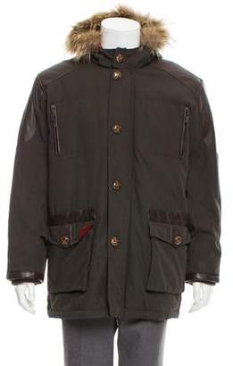 Etro Fur-Trimmed Down Parka