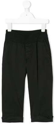European Culture Kids turn-up hem trousers