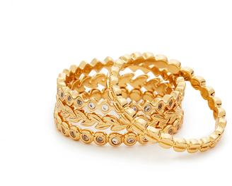 Gorjana Mini Stackable Ring Set $65 thestylecure.com