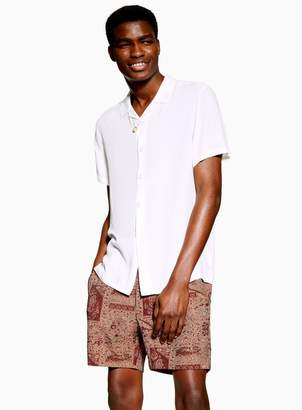 Topman Tapestry Woven Shorts