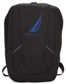 Nautica Zip Logo Backpack