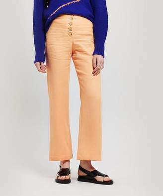 Paloma Wool Adeline Linen Button Trousers