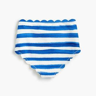 Marysia Swim Girls' MarysiaTM Bumby Santa Monica bikini bottom in stripe
