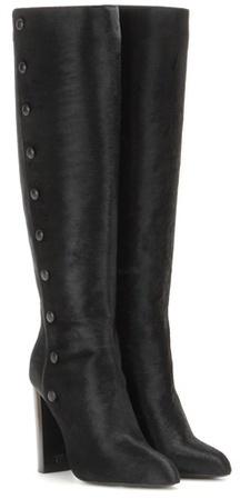 Tom Ford Calf hair knee boots
