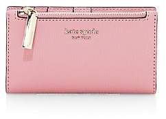 Kate Spade Women's Small Sylvia Leather Slim Bi-Fold Wallet
