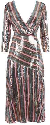 Rixo Tyra Sequin Dress