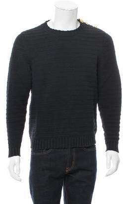 Michael Bastian Embellished Crew Neck Sweater w/ Tags