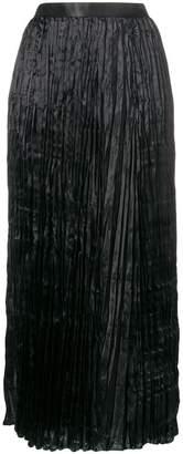 Junya Watanabe high-waist pleated skirt