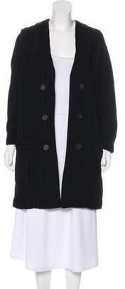 Isabel Marant Textured Knee-Length Coat