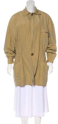 Gianni Versace Lightweight Silk-Blend Jacket