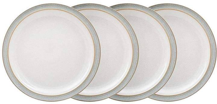 Elements 4-piece Dinner Plate Set – Light Grey