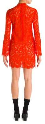 Stella McCartney Lace Long Sleeve Mini Dress