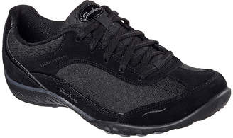 Skechers Womens Breath Easy-Simply Sincere Oxford Shoes Closed Toe