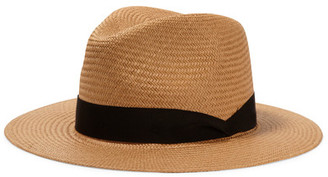 rag & bone - Straw Panama Hat - Light brown $230 thestylecure.com