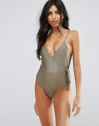 Somedays Lovin Wrap Over Ballerina Swimsuit